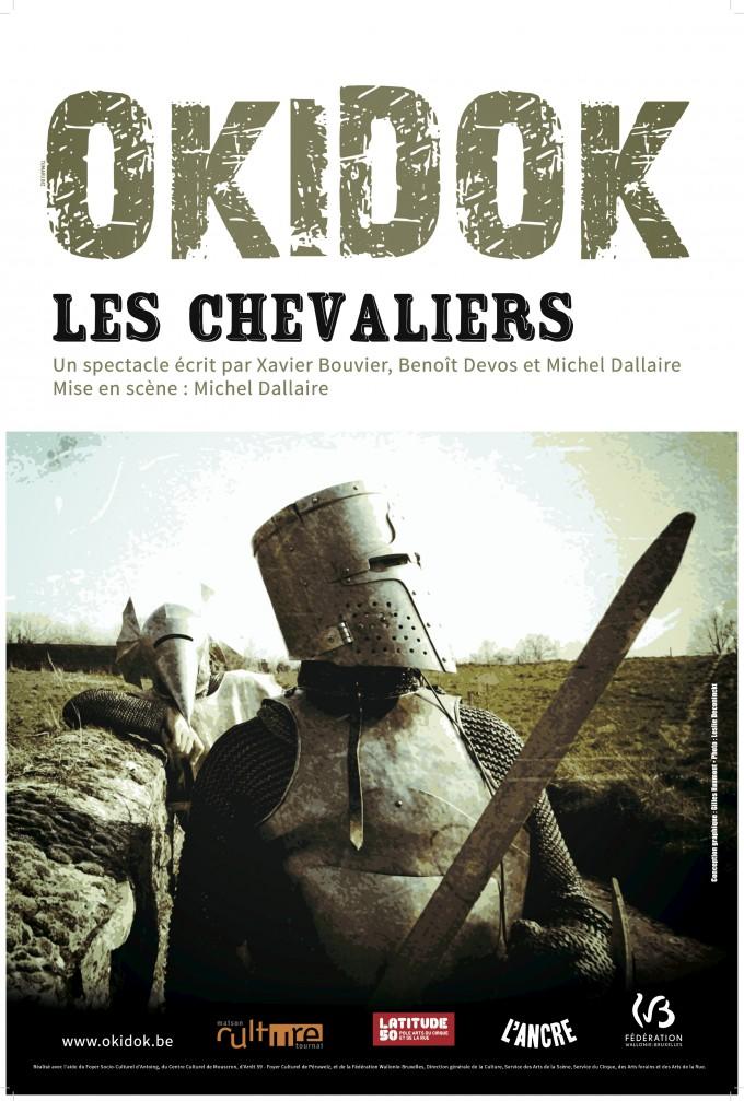 16 CHEVALIERS OKIDOK affiche