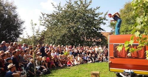 Rallye-Théâtre : Viva Viktor au Silo de Papignies