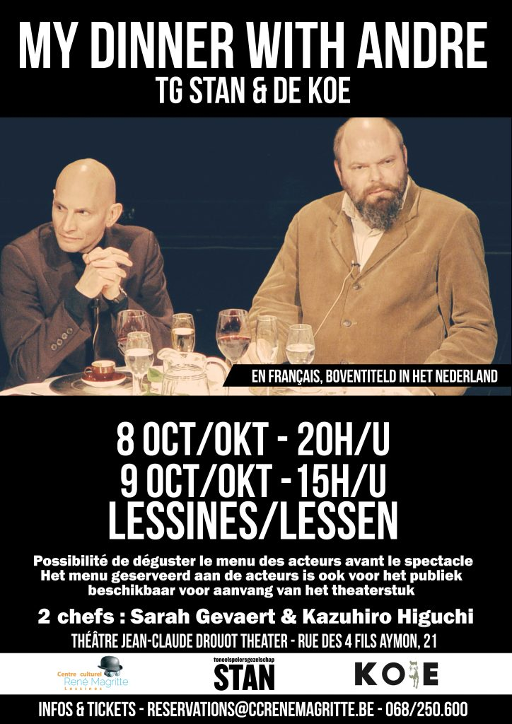 16.10.08 - My Dinner with André - Affiche FR-NL 7