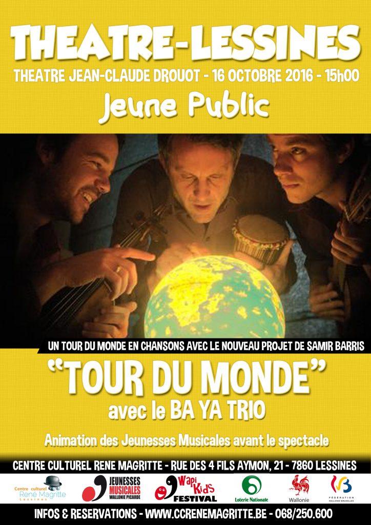 16.10.16 - Le Ba Ya Trio - Affiche